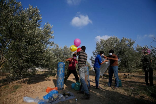 Balloons: A rudimentary weapon of Palestinian desperation