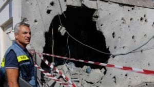 gaza rocket damage
