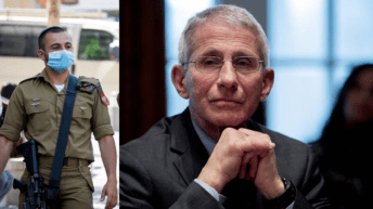 Dr. Fauci: use Israeli prize money to buy vaccines for Palestinians