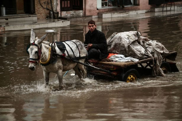 Winter weather brings fresh disaster to Gaza