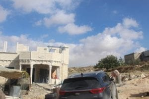 The Huraini family home in At-Tuwani, in the South Hebron Hills. The family bought the land in 1948 while fleeing from the war near Arad.