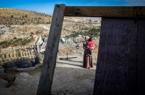 demolition scene in masafer yatta
