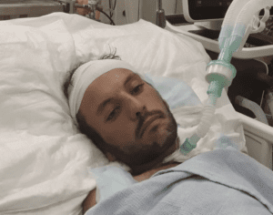 Harun Abu Aram in hospital