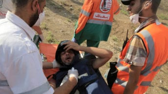 Israel aims to silence Palestinian journalists