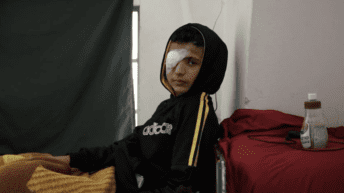 Caught on video: Israeli forces shot Palestinian boy, 14, in the eye