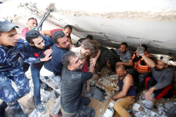 In Gaza, grief, destruction and 'all the anger of the universe'