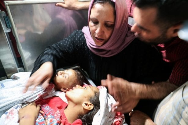 BREAKING:  Israeli airstrikes on Gaza kill 21, including 9 children
