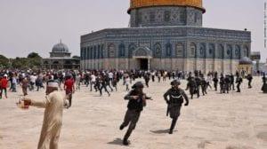 Israel raid al aqsa mosque