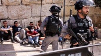 Israel police storm al Aqsa Mosque following Gaza ceasefire