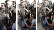 Biking while Palestinian: Israeli police run over child for flying Palestinian flag on his bicycle