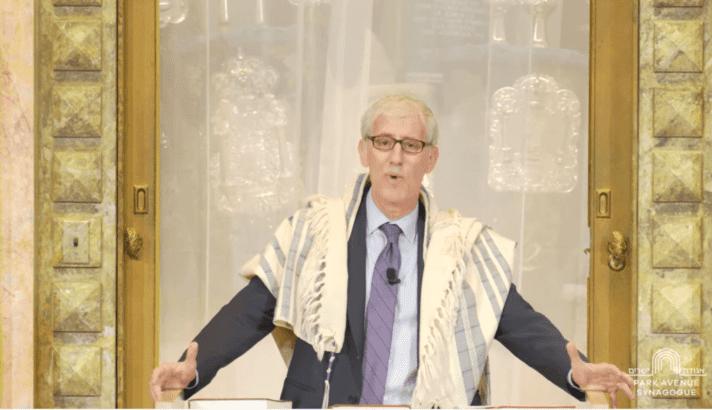 Rabbi Zuckerman offers worshipful sermon to his Israeli son's M16