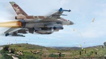 Israeli war planes vs Palestinian balloons, kites & rockets