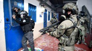 israel prison raid
