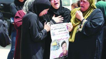 Israeli troops kill Palestinian teen in West Bank peaceful protest
