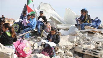 Israeli bulldozers demolish Palestinian kindergarten