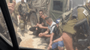 Israeli Soldiers Arrest Seven Journalists Covering Peaceful West Bank Protest