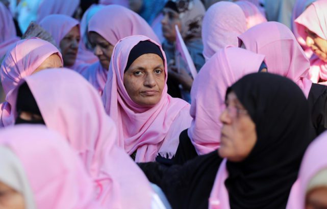 """Palestinians call Israel's breast cancer awareness sentiment """"hypocritical"""""""