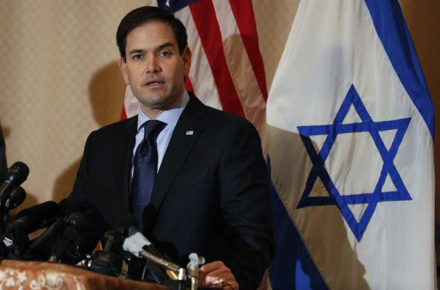 """Sen. Marco Rubio equates boycott of Israel with """"un-American activity"""""""